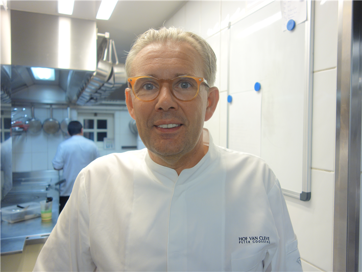 head chef Peter Goossens